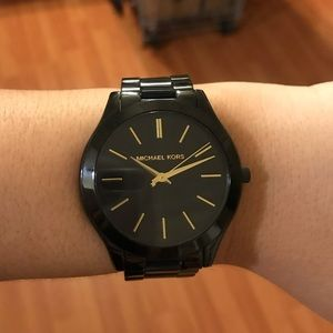 Michael Kors Monochrome Runaway Watch